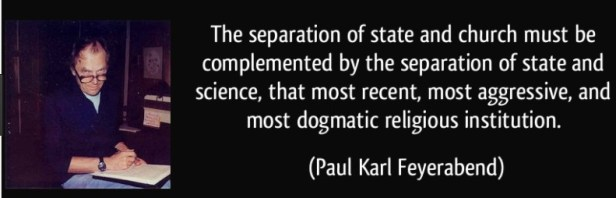 Bilim Kilisesi (Özgür Bir Toplumda Bilim)