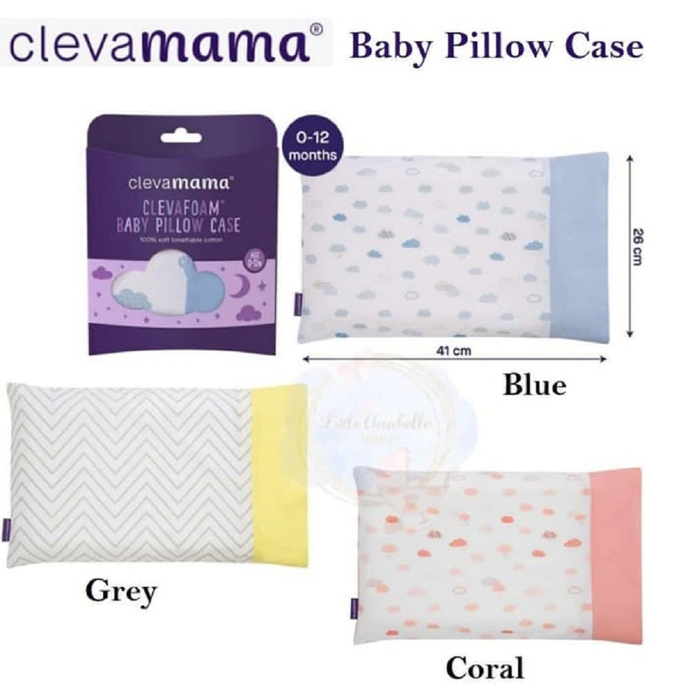 clevamama baby pillow case new