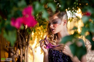 Hair by Sir Daniel Makeup by David Frohmberg Photography by Zee Anna Model: Anya