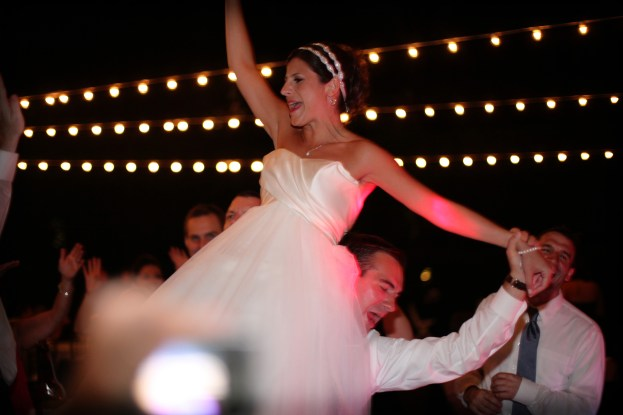 Our bride dancing at her reception