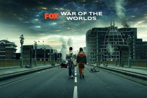 Gabriel Byrne in War of the Worlds TV-serie - Copyright Urban Myth Films