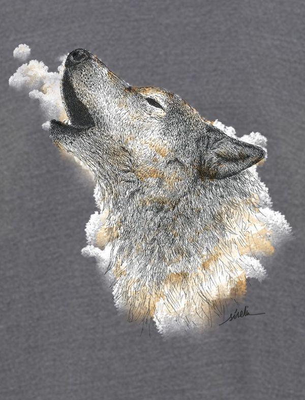lobo aullando sirem
