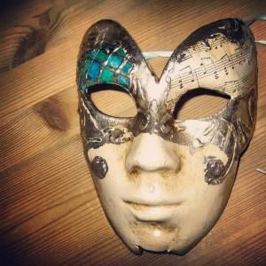 Ca' del Sol: Decorazione maschera