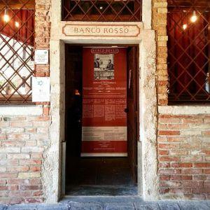Venezia Gheto Novo: Banco Rosso