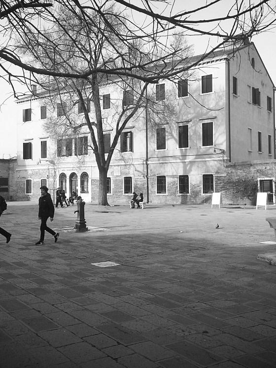 Venezia: Campo del Ghetto Nuovo