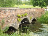 Image of Bridge over the River Lambourn at East Shefford