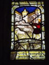 Image of detail of mediaeval window, St Anietus Church, St Neot Cornwall