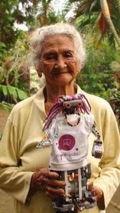 Nuestra abuelita Mom Made con Sirimiri