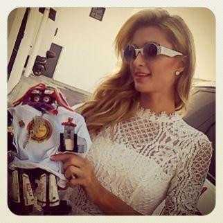 Paris Hilton y Sirimiri disfrutaron de la Foam and Diamond Session