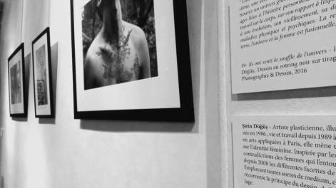 Exposition Gaïa Marie 2e Paris