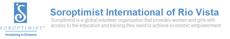 Soroptimist International of Rio Vista