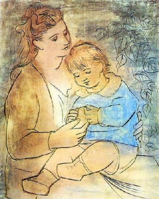 Pablo-Picasso-Mother-And-Child-25656