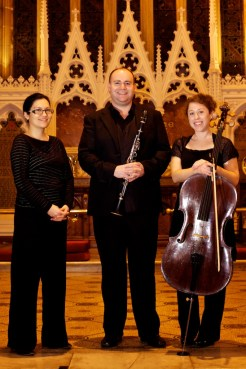 Claire Howard Race, Ian Sykes and Clare Kahn.