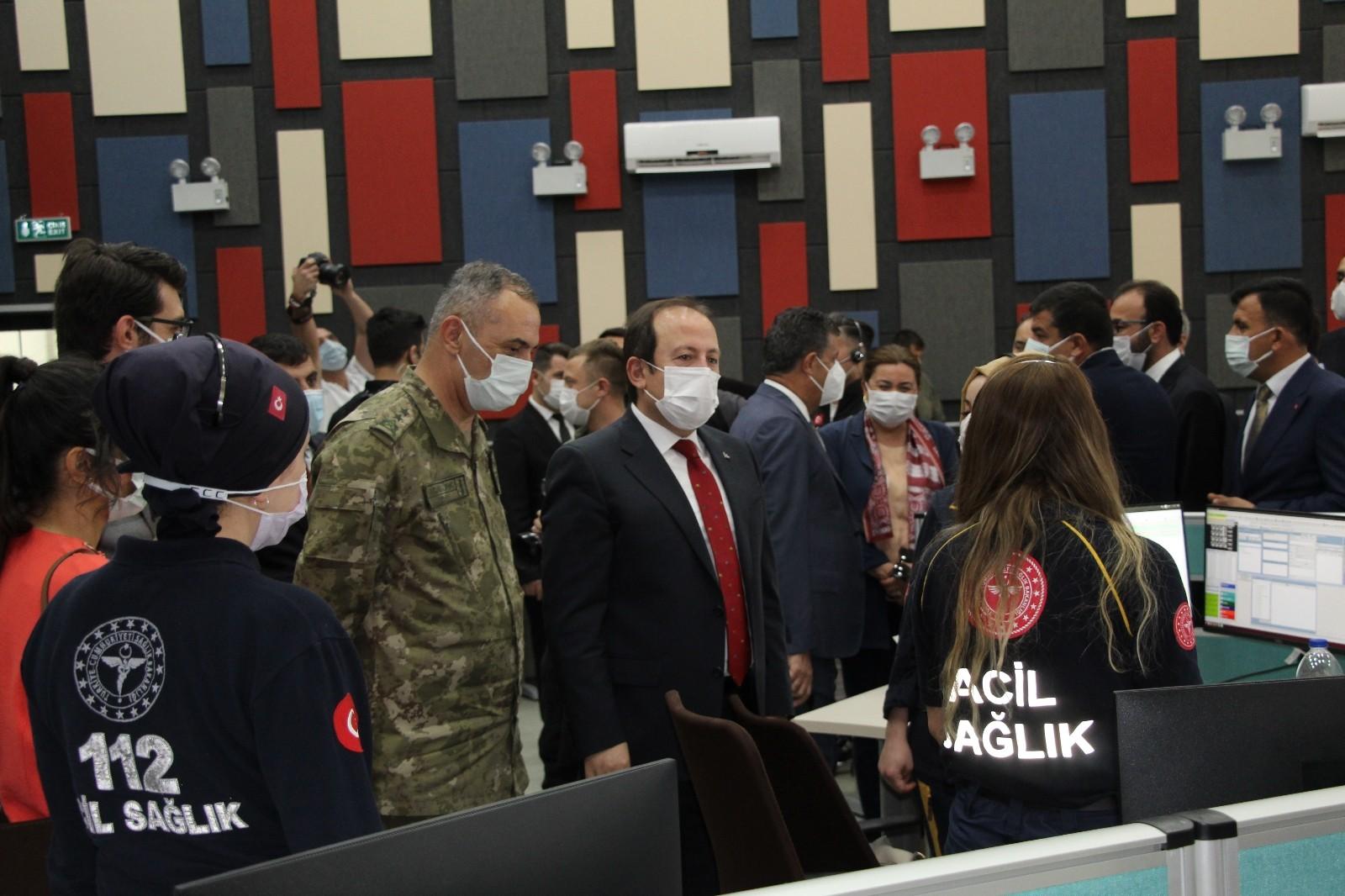 Şırnak'ta 112 Acil Çağrı Merkezi hizmete açıldı