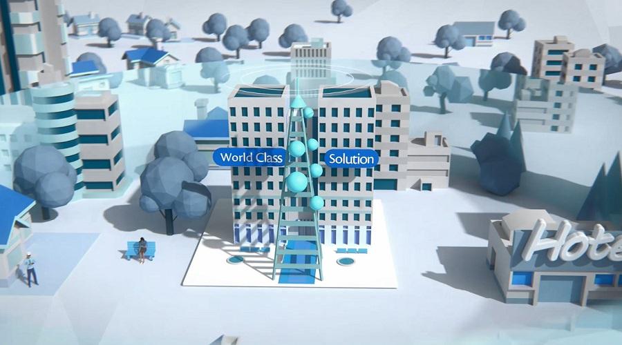 Bulk SMS 3D Animation