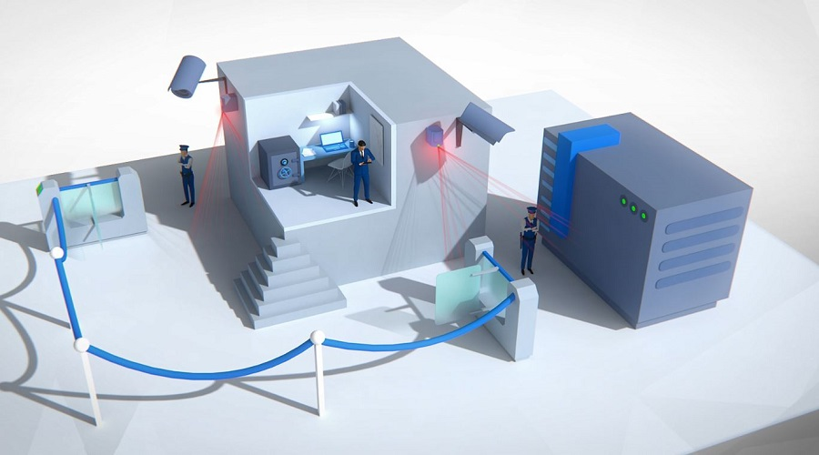 Data Centre 3D Animation