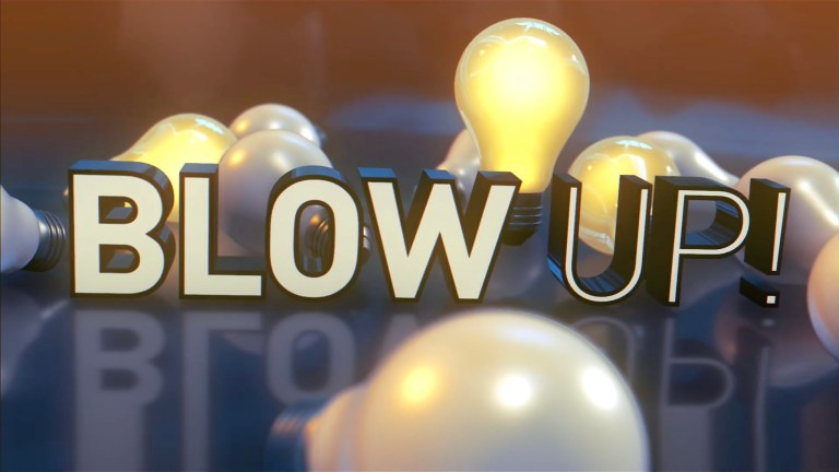 BLowUp Show Intro Graphics animation