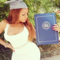 UNBELIEVABLE! NOLLYWOOD ACTRESS TRACY OBONNA WHO LOVES POSTING HER NEKKID PHOTOS IS A MASTER DEGREE HOLDER
