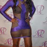 Trashiest Most Disgusting Outfit Ever! 49 year old Mother of 2 wears Skimpy See-through Dress