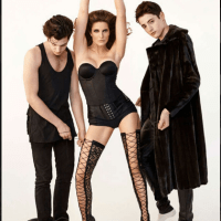 Abomination!! Mother Takes Part in a Steamy, Provocative Raunchy Photoshoot With her Grownup Sons (Photos)