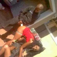 ENDTIMES! Two Girls Allow A Guy Have S*x Wih Them In Public [21+ PHOTO]