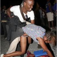 SHAME! See What This Drunk Lady Doing All Over The Club