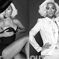 Beyonce Goes Topless For Out Magazine (PHOTOS)