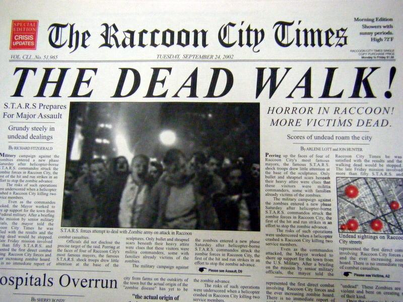 Cronache Da Raccoon City – Ripartire!