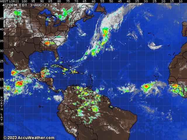 Atlantic Basin Live Storms