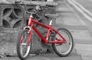 あしたのジョー自転車に乗って力石登場