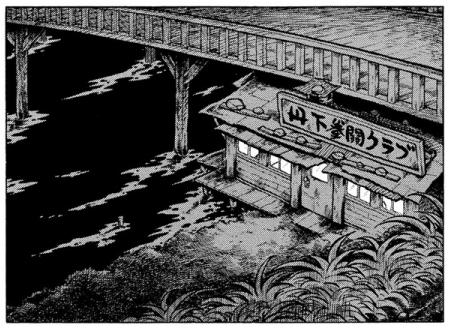 あしたのジョー_泪橋と思川と丹下ジムの配置_5巻P193