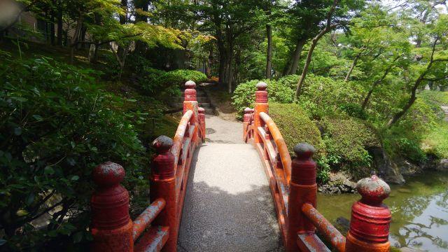 旧安田庭園_池の橋