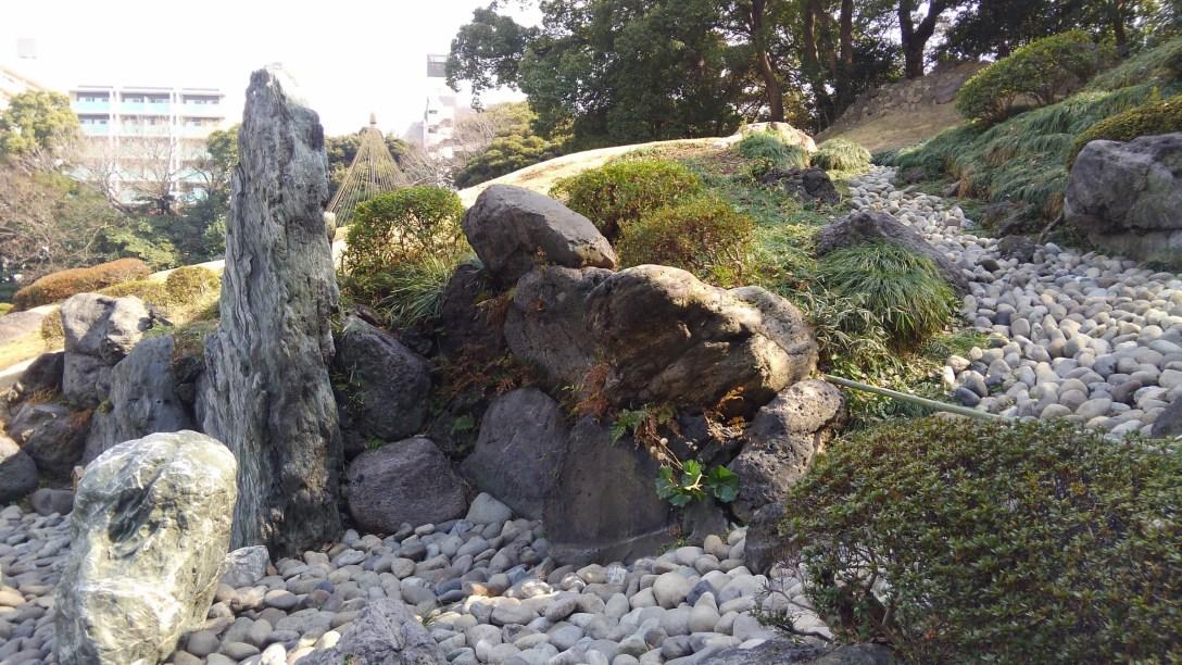清澄庭園築山