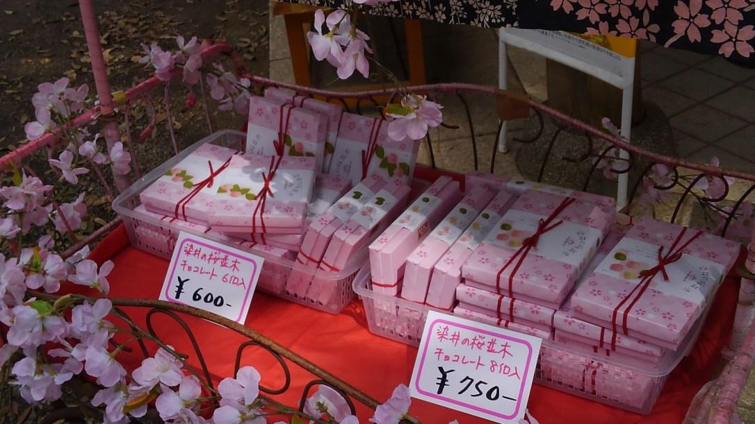 六義園_桜チョコレート