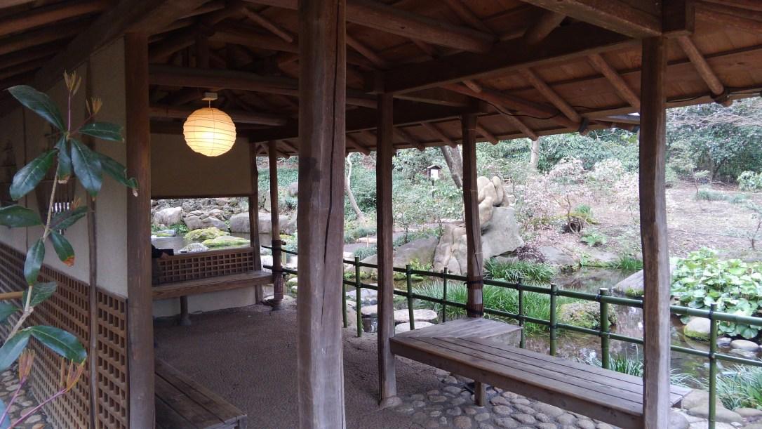 六義園_滝見茶屋