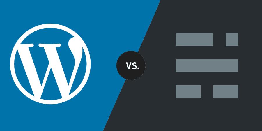 Comparison : WordPress vs. Ghost