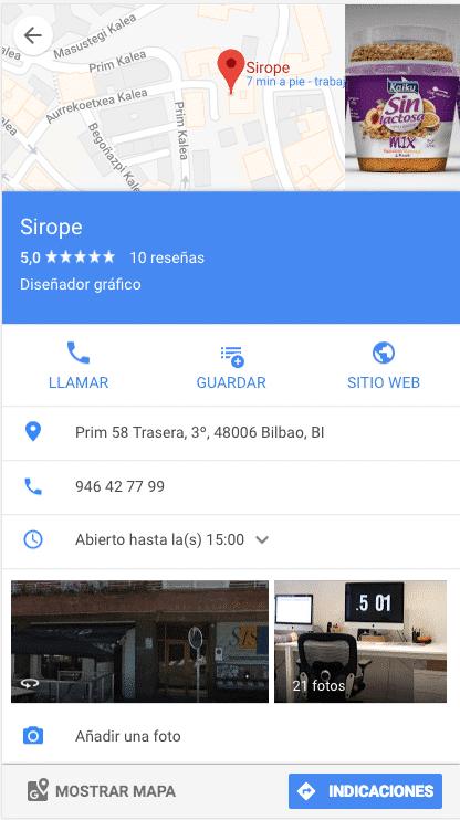 Web app maps sirope desarrollo de aplicaciones