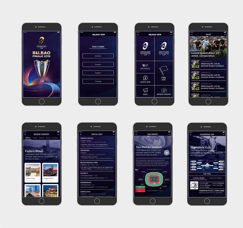 rugby app developper