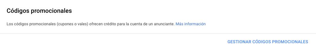 75 euros codigo promocional cupon de google