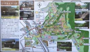 小諸城の案内図