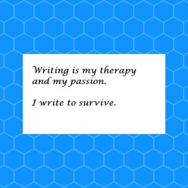 Writing is my pasion