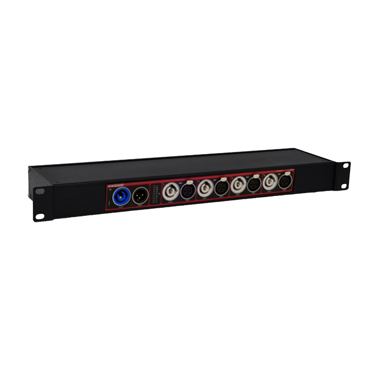 Swisson Dmx Amp Dmx Rdm Power Hybrid Splitter