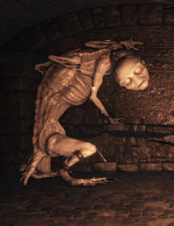 Wretches in Irithyll Dungeon