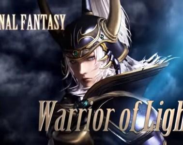 Dissidia Final Fantasy NT warrior of light