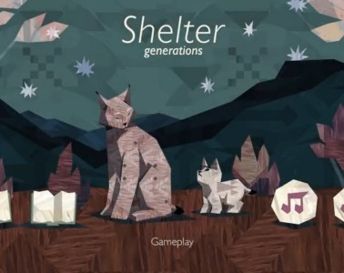Shelter Generations title