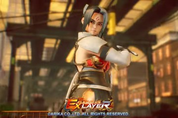 Fighting Ex Layer fight