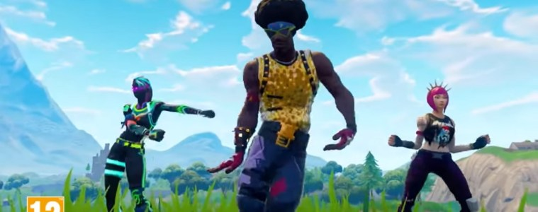 Fortnite now on Switch