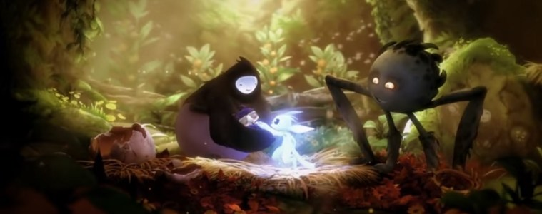 Ori and the Will of the Wisps intro