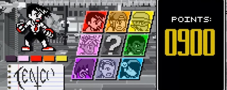 Pocket Rumble roster