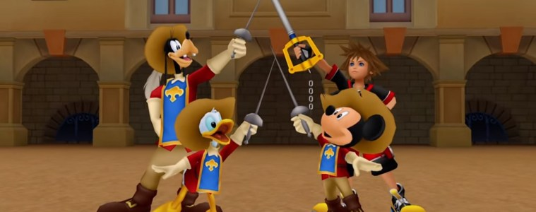 Kingdom hearts 1 the whole gang